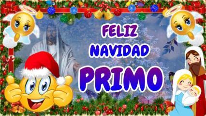 feliz navidad PRIMO