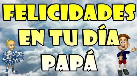 Video Felicitación día del padre!