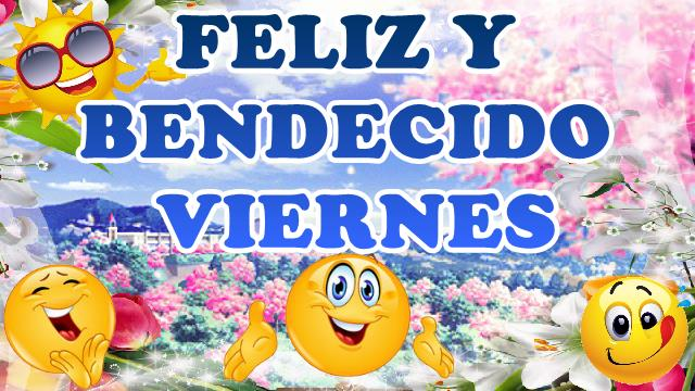 Compartir buenos días feliz y bendecido viernes