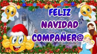 feliz navidad COMPAÑERO