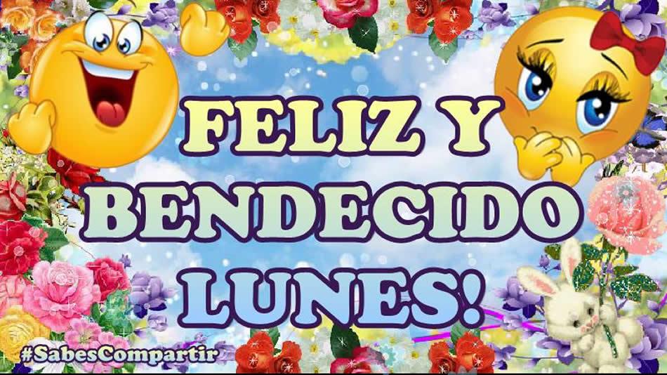 Video Mensaje y Frases Buenos dias Feliz Lunes