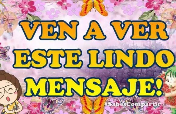 Comparte Video con Lindo Mensaje de Buenos Dias