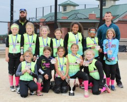 The Fireballs 10U softball team had a good fall Season, going 6-3. Very few of these girls had played together, but they mingled together and built a solid team. Pictured are FRONT ROW (L-R) Ella Barber, Kinley Nelson, Michaela Williams, Kylie Nelson and Saige Stover; BACK ROW (L-R) Alex Burkitt, Brynlee Wolfe, Mykal Novotny, Emma Vice, Mya Mendez-Hollamon, Maria Mendez and Reagan Priebe. The team was coached by Mike Williams, Beau Burkitt and Sherri Nelson.