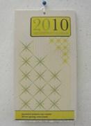 2010 Pyramid Atlantic letterpress calendar