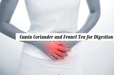 Cumin Coriander and Fennel Tea for Digestion