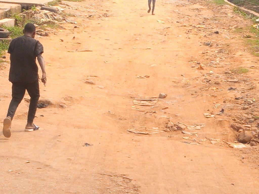 ROAD OF IDOWU ANISERE STREET, IKOTUN.