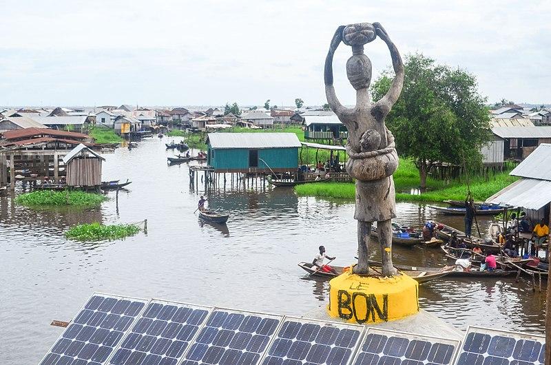 GANVIE PEOPLE OF BENIN REPUBLIC