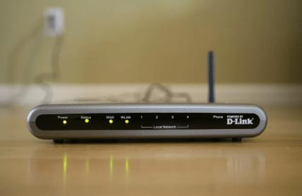 Desconectar el router