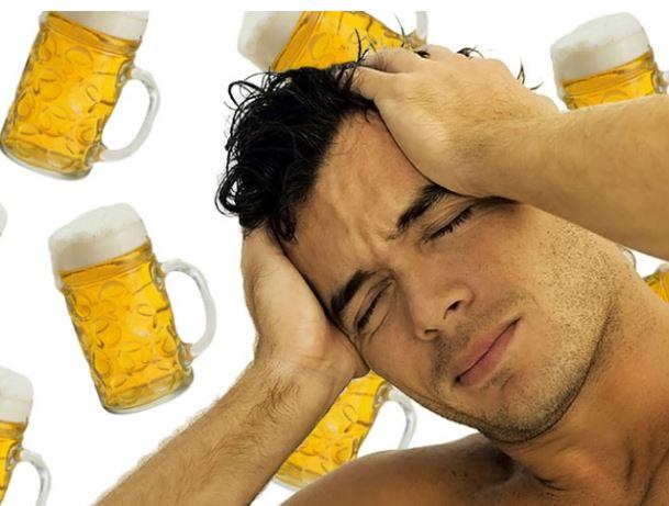 La cerveza puede reducir más el dolor de cabeza que el paracetamol