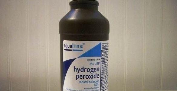 No debemos poner peróxido de hidrógeno en las heridas