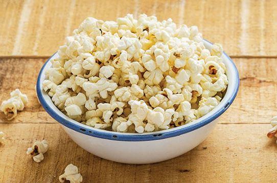 Los inesperados beneficios de las palomitas de maíz