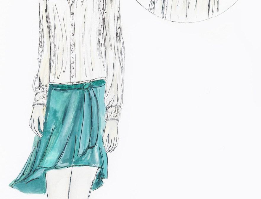 Modcloth Make the Cut Contest: Please vote for my 2 designs