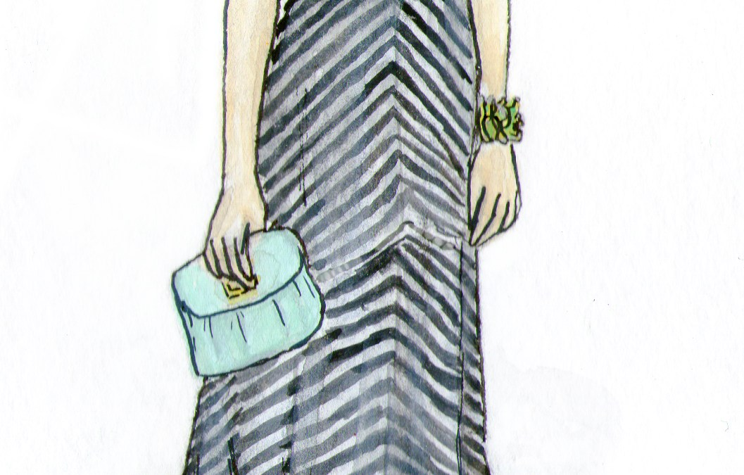 French Girl Chic, Inspired by Striped Modcloth Dress