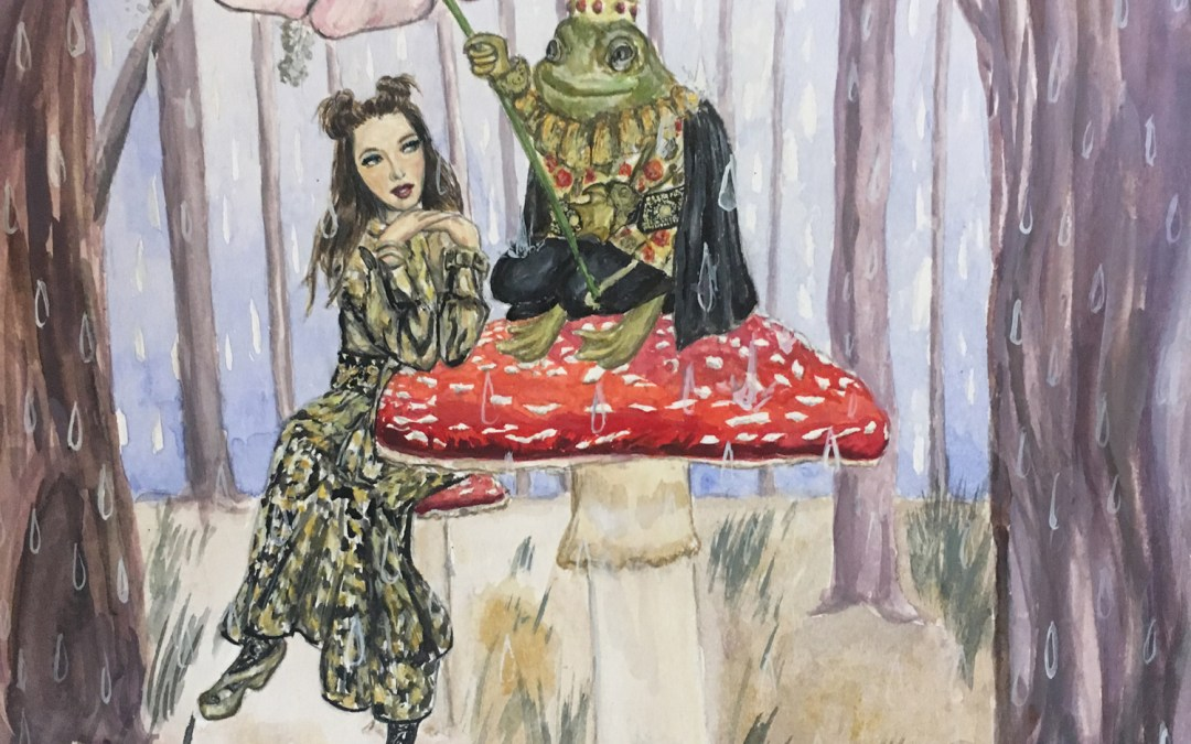 The Princess and the Frog (Inspired by Anna Sui Fall 2017)