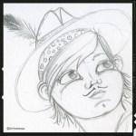 sabine-hautefeuille-illustration-indien-mine de rien