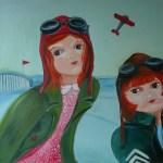 Jélène et Amélia format 50x50