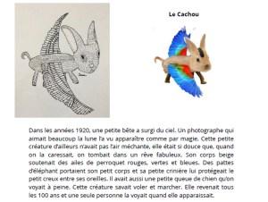 Atelier Sabine Hautefeuilleanimaux fantastiques