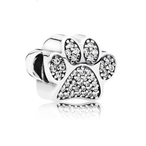 Charm Silver Paw