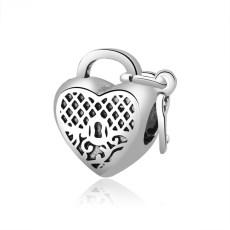 Charm Lock Heart