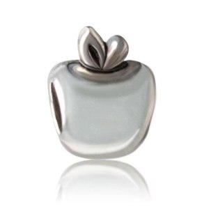 Charm Silver Apple