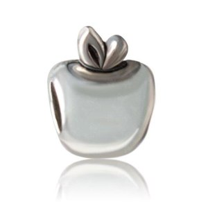 Charm Silver Apple
