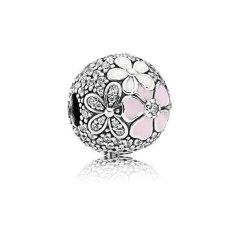 Charm Pink Round Flower