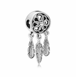 Charm Indian Feather