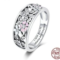 Inel Infinity Love, din Argint