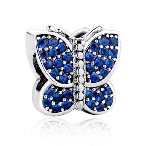 Charm Bluetterfly din Argint