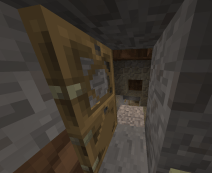 Door to my mine.