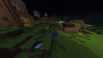 Me at night in our world. Note the cape! Minecon 2014