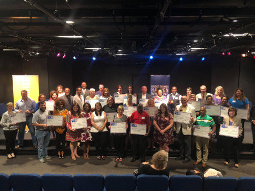 Group photo of grant recipients