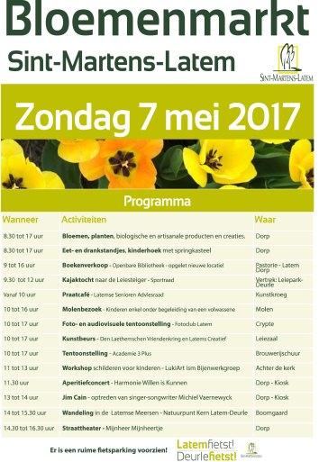Affiche Bloemenmarkt 2017-A4.indd