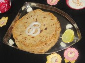 Aalu (potato) Parata