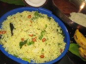 NIMMAKAYA PULIHORA/ LEMON RICE