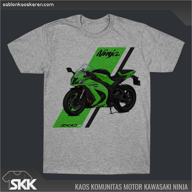 Kaos Motor Kawasaki Ninja