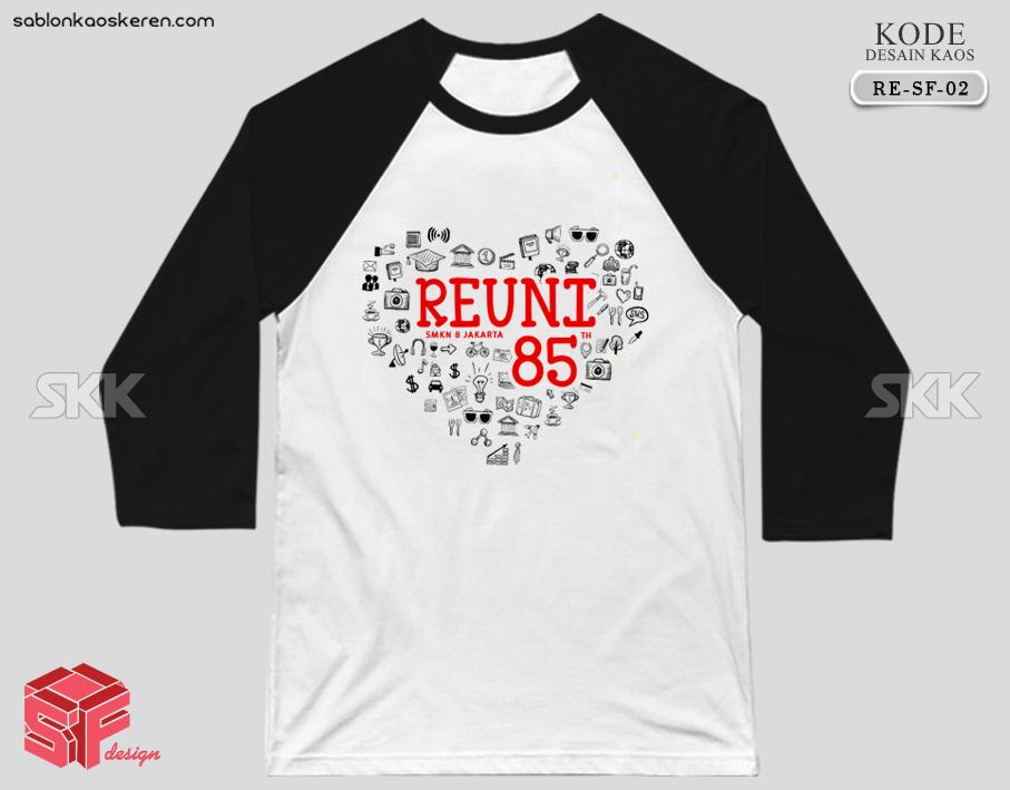 Desain Kaos Reuni SMKN 8