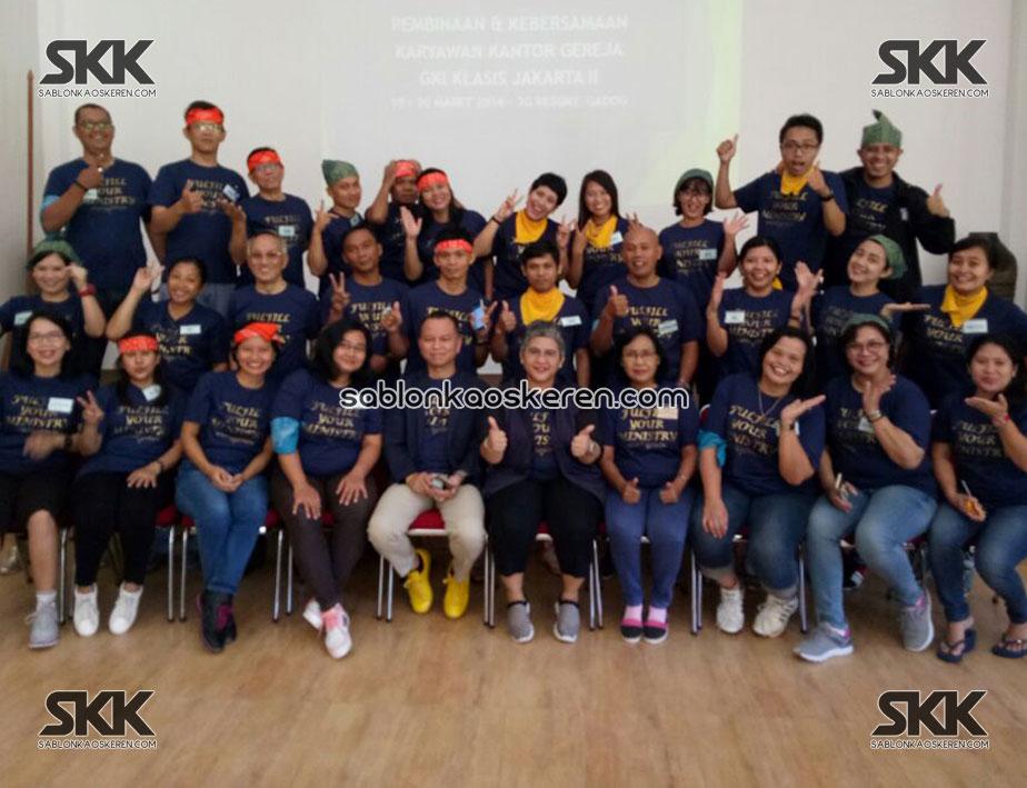 Kaos Seragam Karyawan Gereja GKI