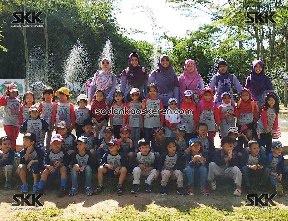 Kaos Outbond TK Nurul Syabil Jagakarsa
