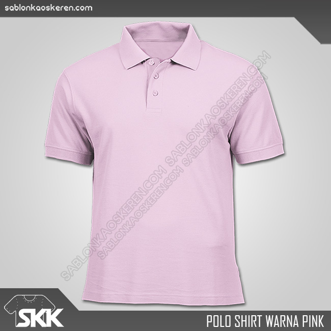 Polo Shirt Warna Pink