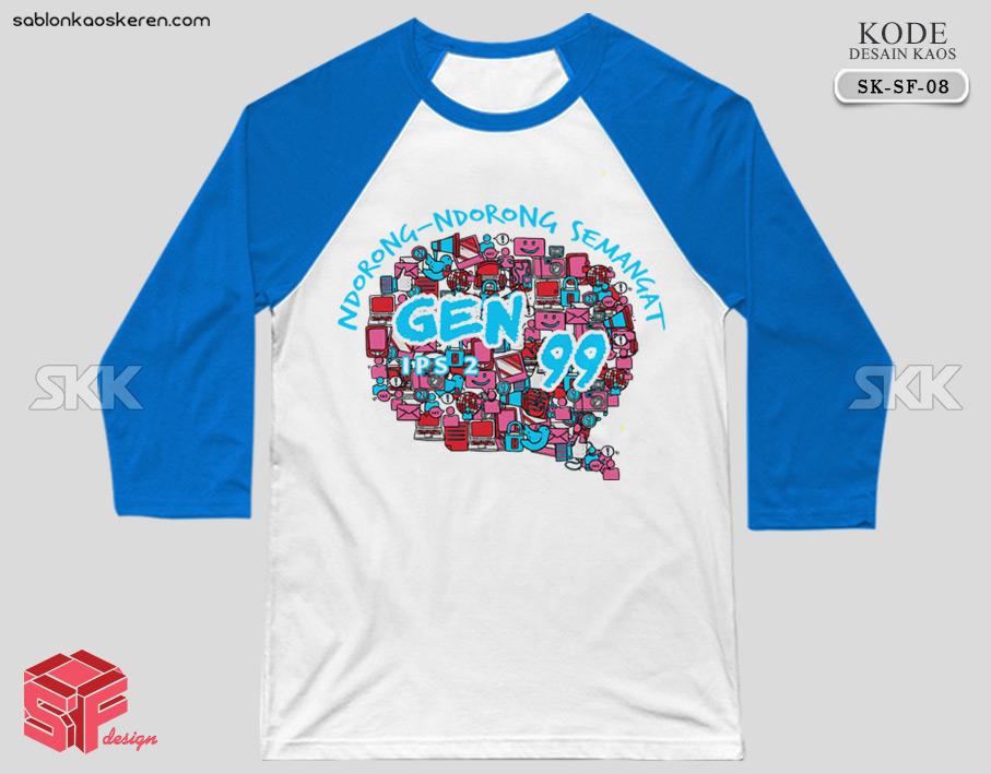 Desain Kaos Kelas IPS