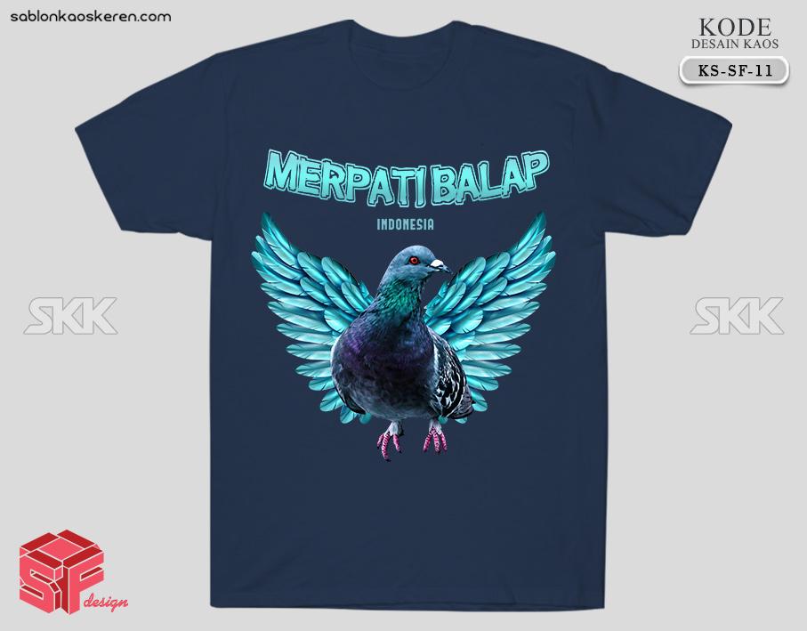 Kaos Burung Merpati Balap