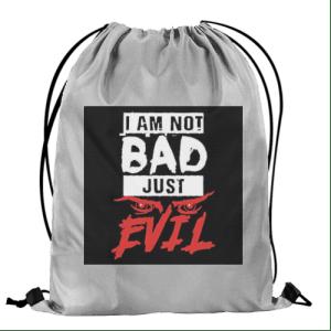 Blaze Evil Drawstring Bag front