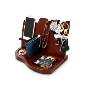 Dark Brown Docking Station Customized