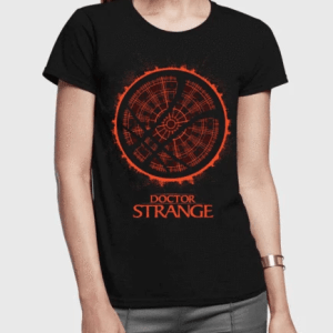 Doctor Strange Half Sleeves Women T-Shirt Custom Printed