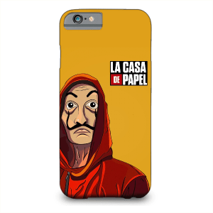 Money Heist Le Casa De Papel Mobile Cover customized
