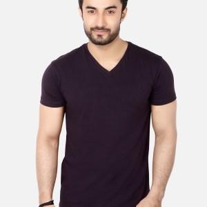 Basic V- Neck T-Shirt SB05
