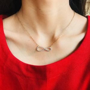 Casual Zircon Necklace SN17