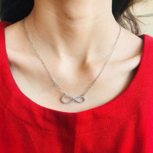 Casual Zircon Necklace SN18