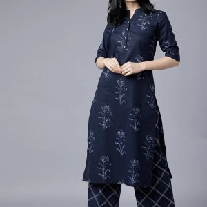 Unstitched 2 Piece Block Printed Cambric Suit SP09